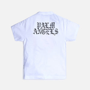 Palm Angels Burning Head Tee - White