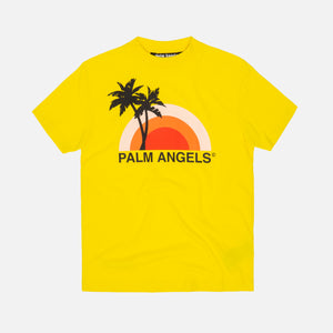 Palm Angels Sunset Tee - Yellow