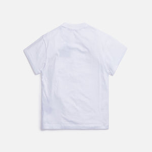 Palm Angels Tropical Logo Classic Tee - White