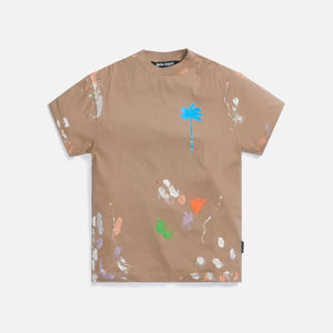 Palm Angels PXP Painted Classic Tee - Nougat