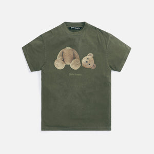 Palm Angels GD PA Bear Classic Tee - Military