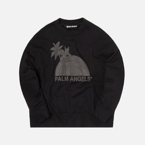 Palm Angels Sunset Crewneck - Black
