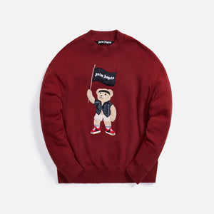 Palm Angels Pirate Bear Crewneck - Syrah