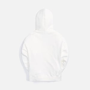 Palm Angels Hue Gothic Logo Hoodie - Brilliant White