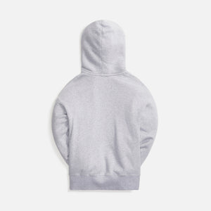 Palm Angels Pirate Bear Hoodie - Melange Grey White