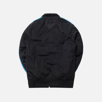 Palm Angels Rainbow Track Jacket - Black / Multi