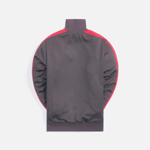 Palm Angels College Track Jacket - Dark Grey / Magenta