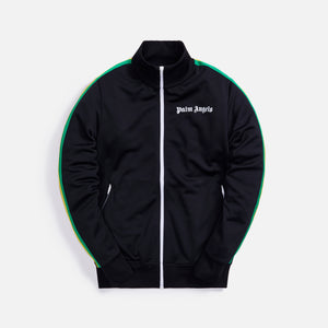 Palm Angels Exodus Classic Track Jacket - Black / White