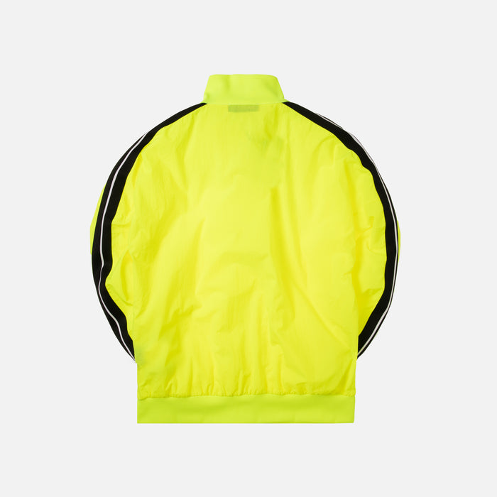 Palm Angels Loose Fit Track Jacket - Yellow / Black