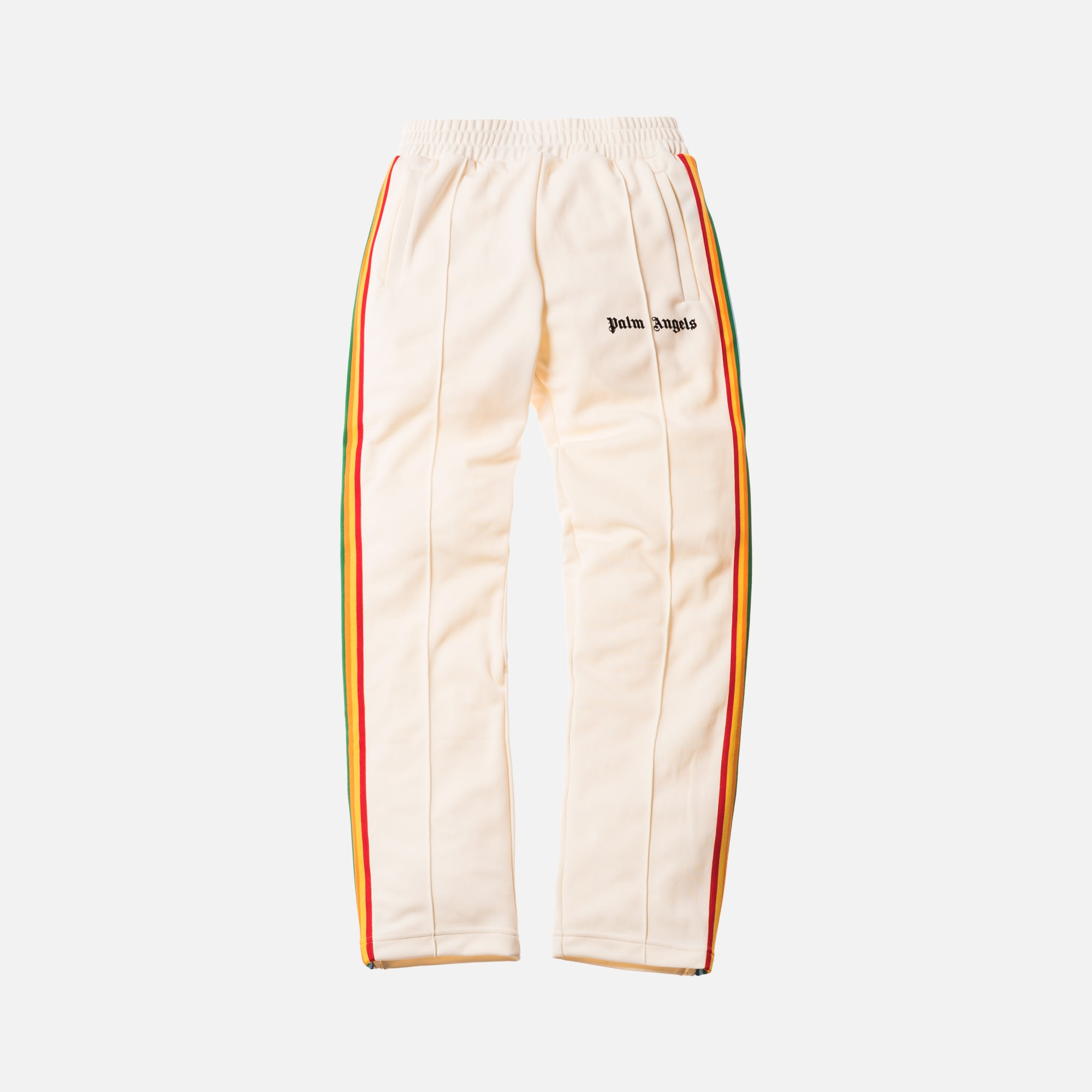 Palm Angels Rainbow Track Pants - Off White / Multi