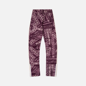 Palm Angels Bandana Classic Track Pants - Plum / White