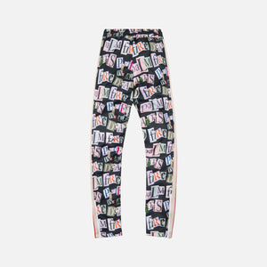 Palm Angels Ransom Print Slim Track Pants - Multi