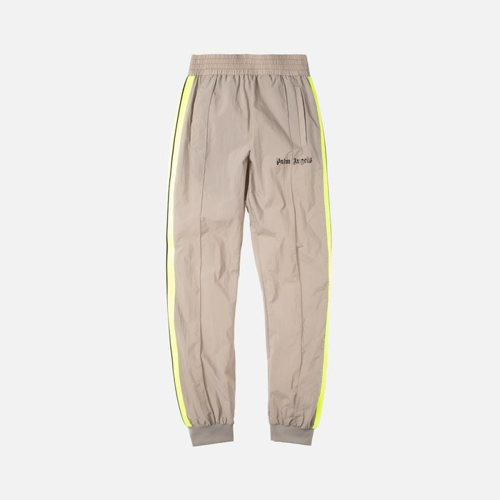 Palm Angels Loose Fit Track Pants - Light Grey Fluo