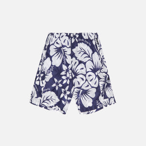 Palm Angels Hawaiian Swim Shorts - Blue / White