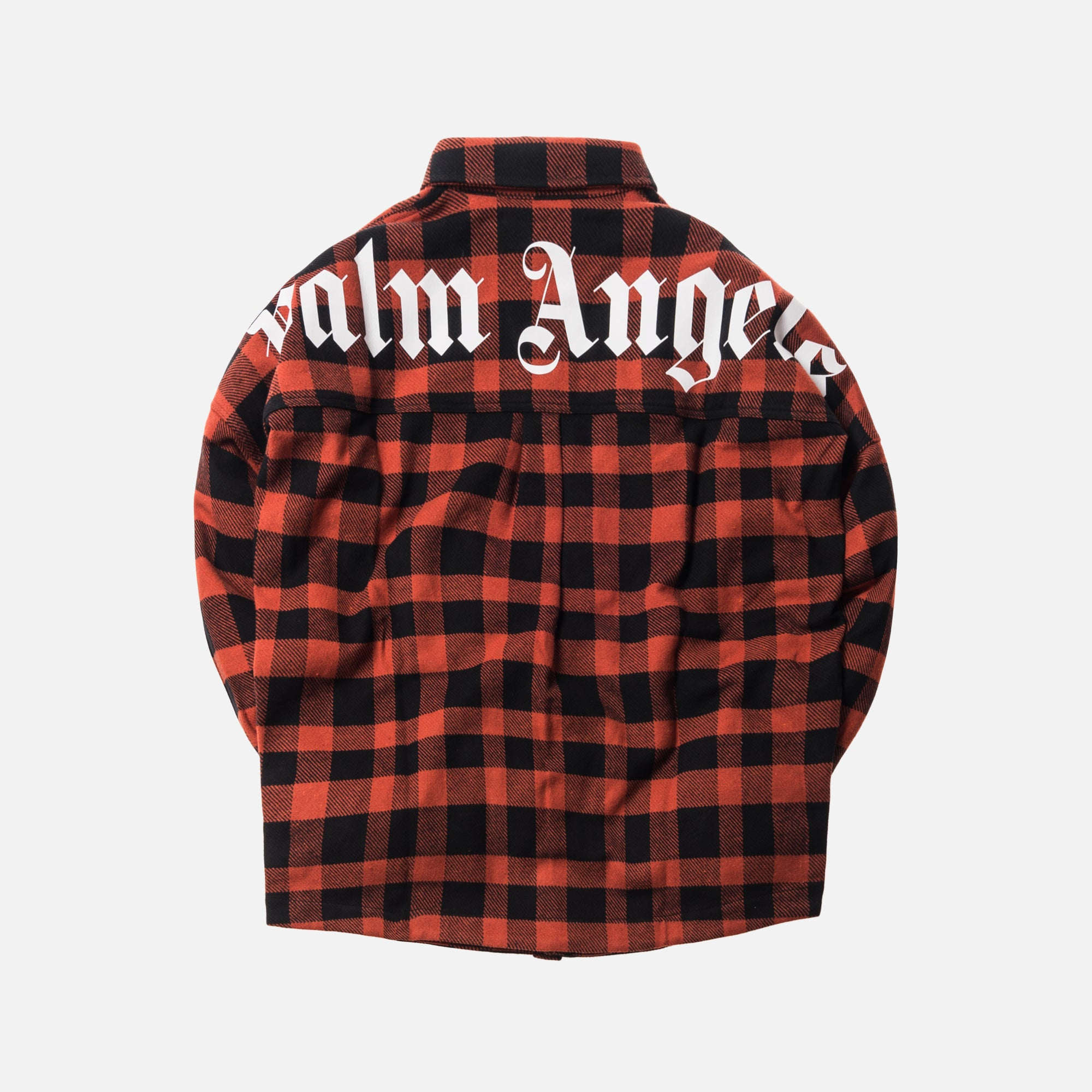 Palm Angels Logo Over Shirt - Multi  / White