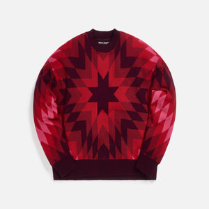Palm Angels Arizona Crewneck - Burgundy Pink