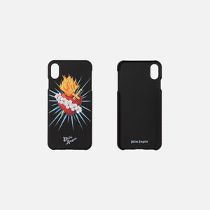 Palm Angels Sacred Heart iPhone Case XS - Black