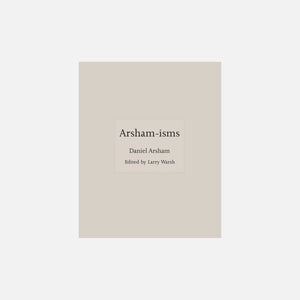 Princeton Press Arsham-isms