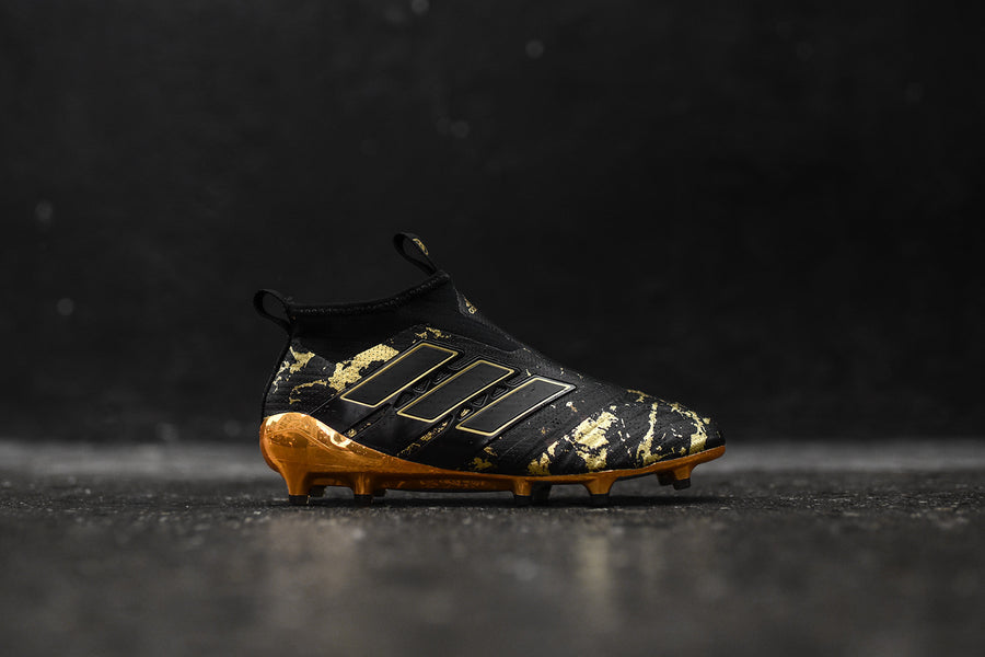 adidas x Pogba Season 1 Ace Tango 17+ PureControl Firm Ground Cleat - Black / Gold