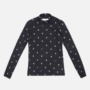 Proenza Schouler L/S Turtleneck - Black / White Bears