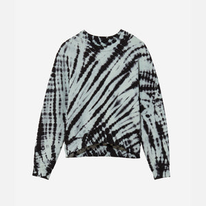 Proenza Schouler Modified Raglan Tie Dye Sweatshirt - Blue