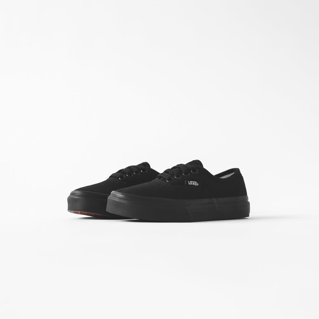 612f0c0b8c Vans Kids Authentic - Triple Black – Kith