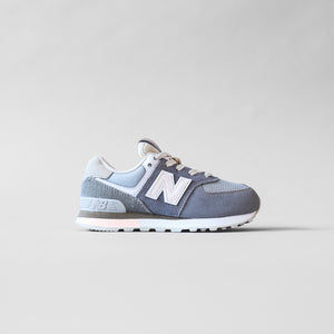 New Balance Kids PC574SG - Gunmetal / Steel Image 1