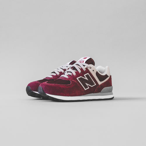 New Balance Kids PC574GB - Burgundy / Grey