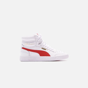 Puma Ralph Sampson Mid - Puma White / High Risk Red