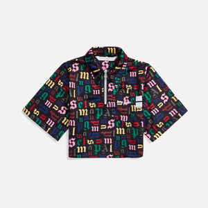 Palm Angels Monogram Track Polo - Multicolor