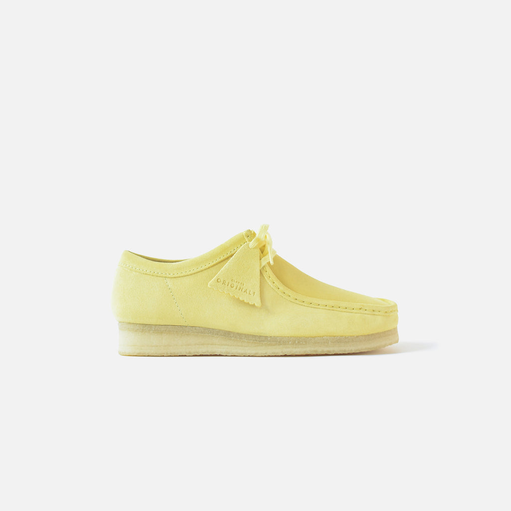 Clarks Wallabee - Pale Yellow – Kith
