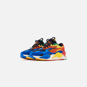 Puma x Rubiks RS-X3 - Palace Blue / High Risk Red Image 3