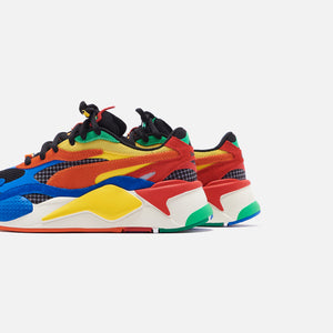 Puma x Rubiks RS-X3 - Palace Blue / High Risk Red