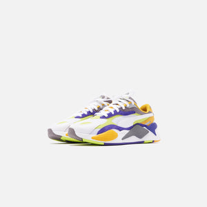 Puma RS-X3 Level Up - White / Limepunch Image 2
