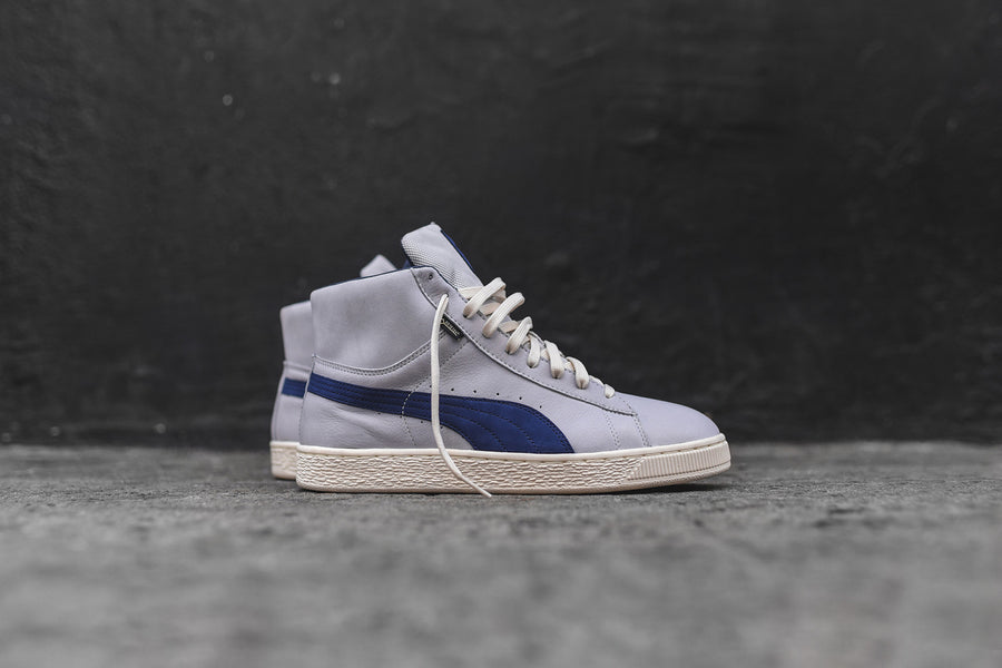 Puma Basket Mid GTX Select - Grey / Navy