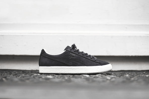 Puma Clyde Frosted - Black / White