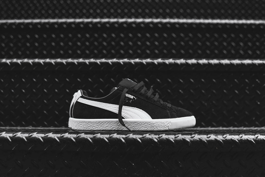 Puma Clyde B&C Select - Black / White