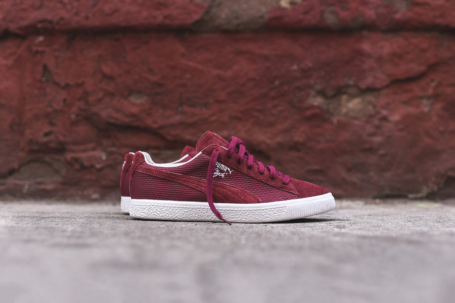 Puma Clyde Select Made In Japan - Burgundy