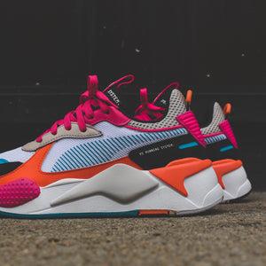 Puma WMNS RS-X Toys - White / Black / Fuchsia Purple