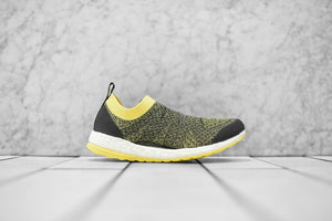 07db3bbd9 adidas by Stella McCartney WMNS PureBoost X - Super Purple   Yellow ...