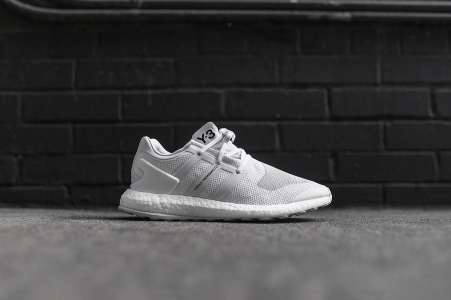 Y-3 Pure Boost ZG Knit - Triple White