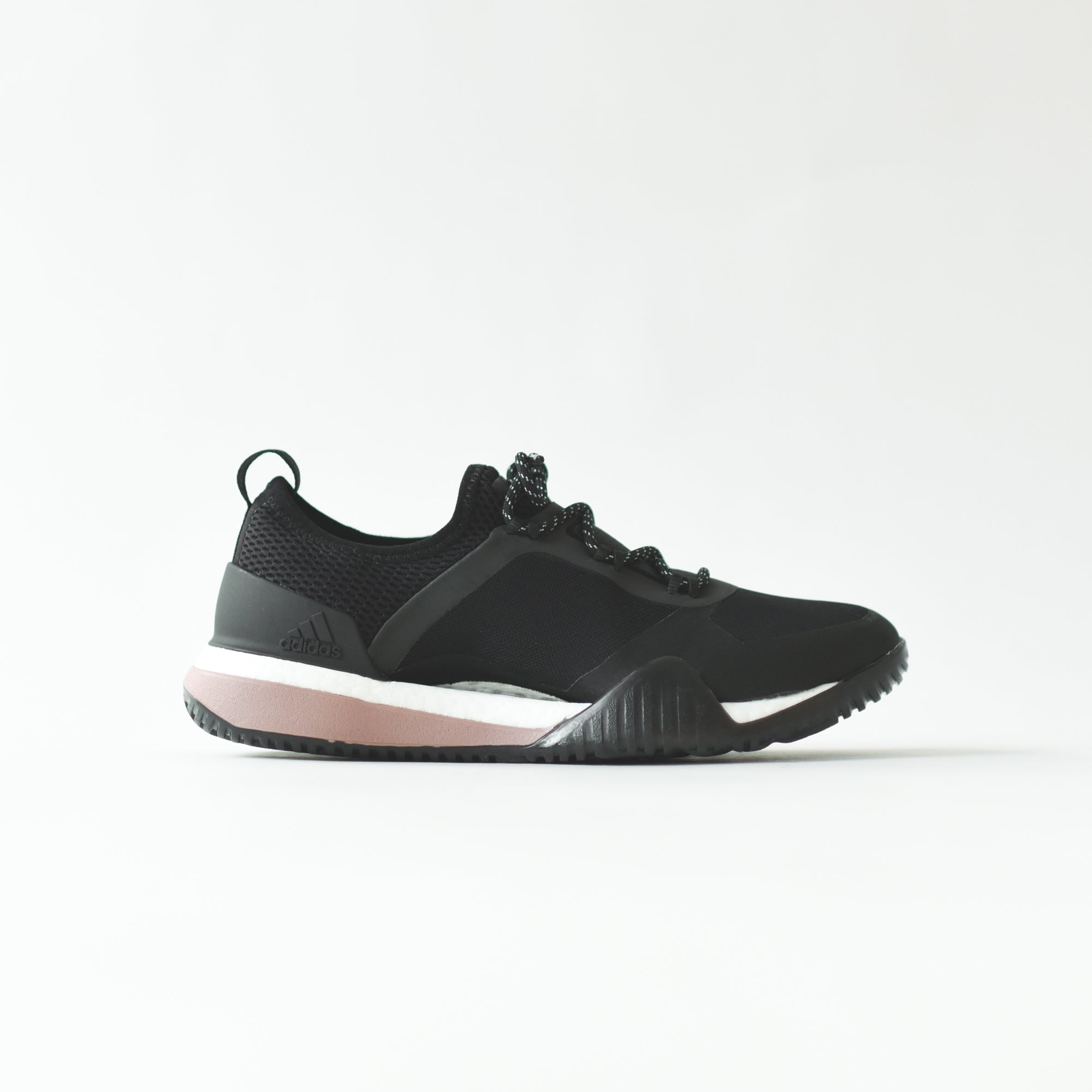 adidas by Stella McCartney WMNS PureBoost x TR 3.0 - Black / Smoked Pink / Noble Maroon
