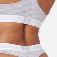 Kith Women for Calvin Klein Thong - Light Heather Grey Thumbnail 1