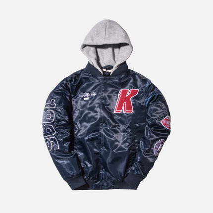 Kith Gorman Varsity Jacket - Navy