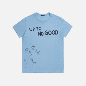 R13 Up To No Good Boy Tee - Light Blue