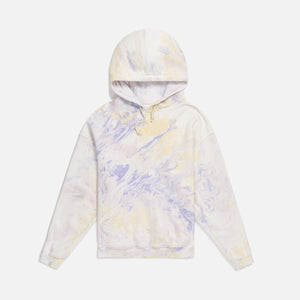 ReDone Oversized Hoodie - Lilac / Yellow / Pink Marble Image 1