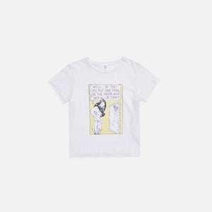 ReDone x Hanes Classic Man on the Moon Tee - White