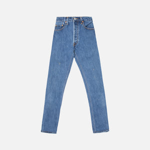 ReDone High Rise Ankle Crop - Blue