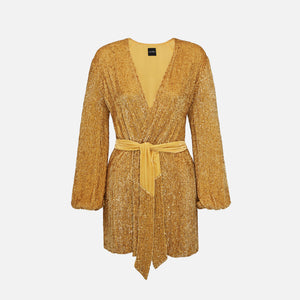 Retrofete Gabrielle Robe - Gold