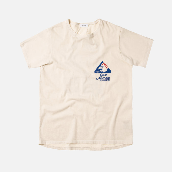 "Rhude Tee ""Great American Reality"" - White"